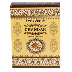 Vonné tyčinky Ayurvedic - CHANDAN (Sada 12 krabiček)