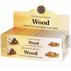 Vonné tyčinky Graden fresh - WOOD  (Sada 12 krabiček)