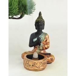 Dekorační stojánek na svíčku Buddha