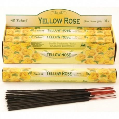 Vonné tyčinky - YELLOW ROSE (Sada 6 krabiček)