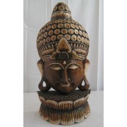 Hlava Buddhy-60 cm