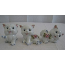 Kočky 7cm - sada 3ks