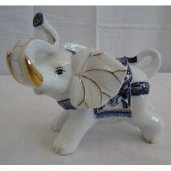 Slon 14cm - modrý