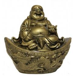 Buddha sedící na ingotu