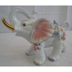 Slon 13cm - růžový
