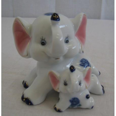 Slon a slůně 8,5 cm