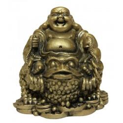 Buddha1 s mincemi na žábě hojnosti