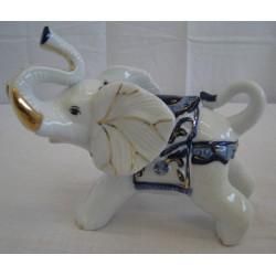 Slon 13cm - modrý