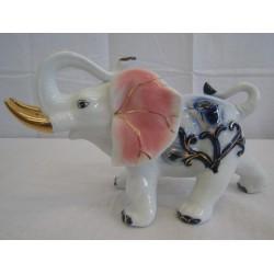 Slon 16cm - růžové uši