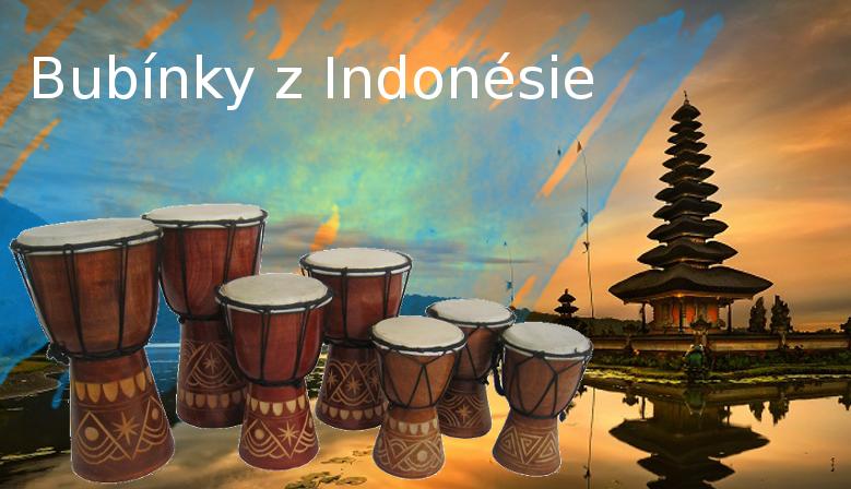 Bubínky z Indonésie