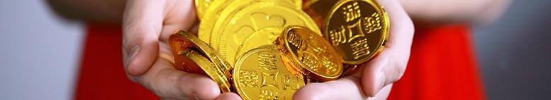 čínské mince štěstí